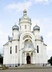 Facade of orthodox church