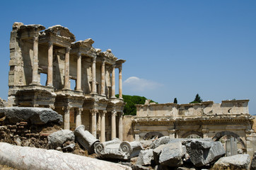 Ruins of Ancient Greek city Hierapolis