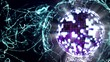 Disco Ball in Particle Form - HD1080