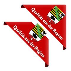 qualität aus der region sachsen-anhalt ecke button