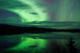 Fototapeta arktyczny - astronomia - Noc