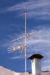 Antennen auf Hausdach