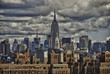 Empire State Building and NYC Skyline