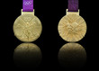 London 2012 Olympics Gold Medal design