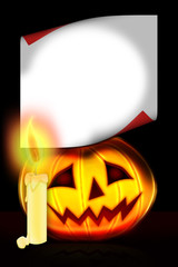 Halloween  -  postcard