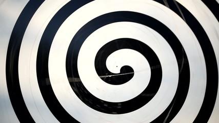 Hypnose - rotierende Spirale