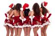 sexy young santa women