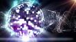 Disco Ball in Particle - HD1080