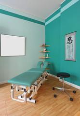 Physiotherapeutische Praxis Behandlungsliege