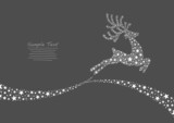 Flying Reindeer from Stars