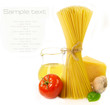 Pasta and food ingredients