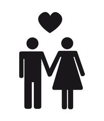 piktogramm in love