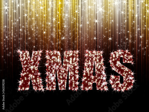 XMAS, Sterne und Streifen