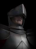 Battle Scarred Knight Portrait poster