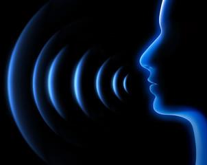 Kommunikation-Sprache-Schall