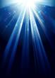 shining light - vector background