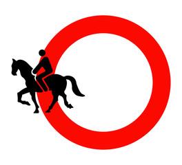 Divieto di circolazione a cavallo