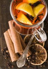 Herbata zimowa - grzana