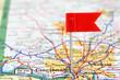 Cincinnati on a map