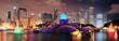 Chicago night scene