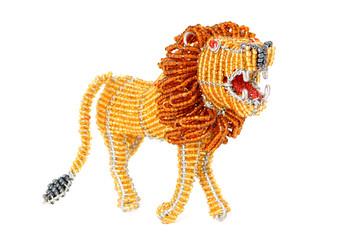 Decorative African lion
