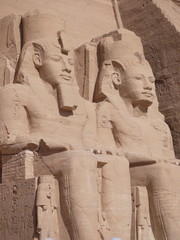 colossi at Abu Simbel