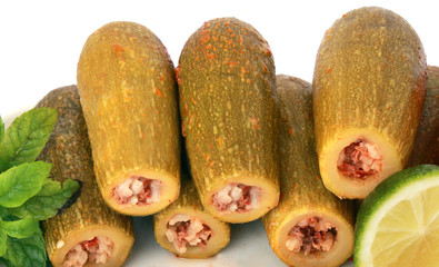 lebanese food - cooked zucchini