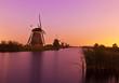 Windmills at Kinderdijk near Rotterdam