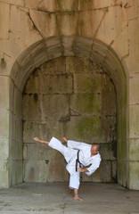Karate nel tempio