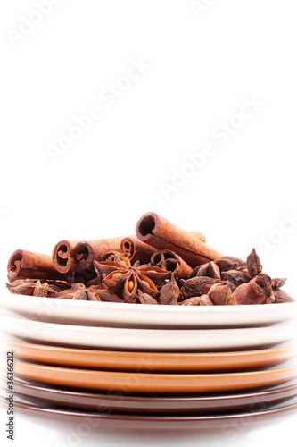 cinnamon on a plate