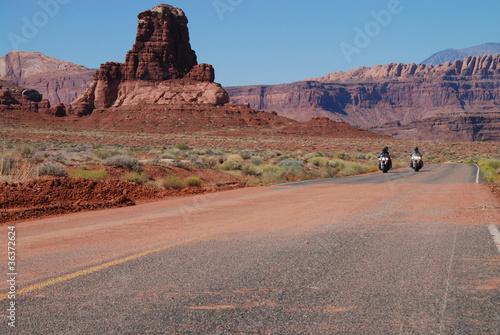 Poster desert riding