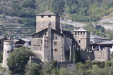 Sarriod de la Tour Castle (Aosta valley, Italy)