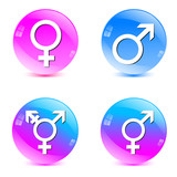 male, female, transgender symbol