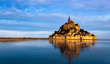 canvas print picture - Le Mont Saint Michel, France