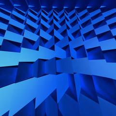 Blue CG Textured Background