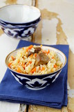 Pilaf - classic Middle Eastern and Central Asian dish