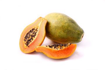Spicchio di papaya