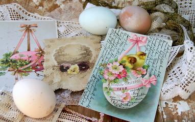 Antike Osterkarten