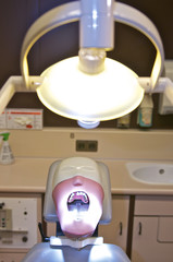 Patientenatrappe beim Zahnarzt