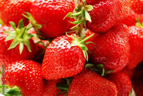 Background Strawberries