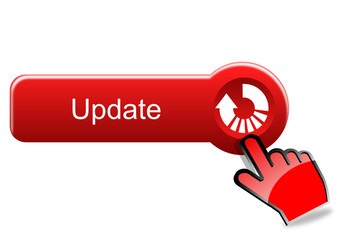 Update button with red hand