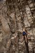 rock climb woman