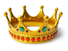 Or couronne royale