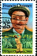 Francis OUIMET, US open Champion. Golf US Postage