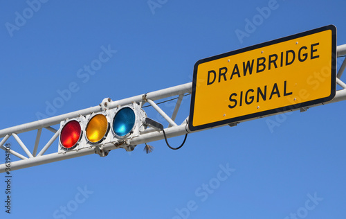Drawbridge Signal Lights