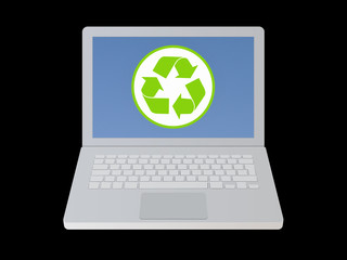 Recycled laptop
