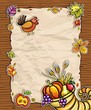 Thanksgiving theme 5: Beautiful Holiday paper arrangement