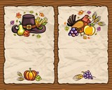 Thanksgiving theme 6: Beautiful Holiday paper arrangements