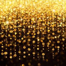 Regen of Lights Weihnachten oder Partei-Hintergrund