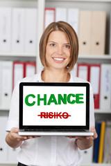 chance statt risiko